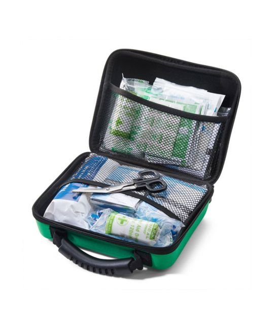 Click Medical BS8599-2 Large First Aid Kit in Medium Feva Bag