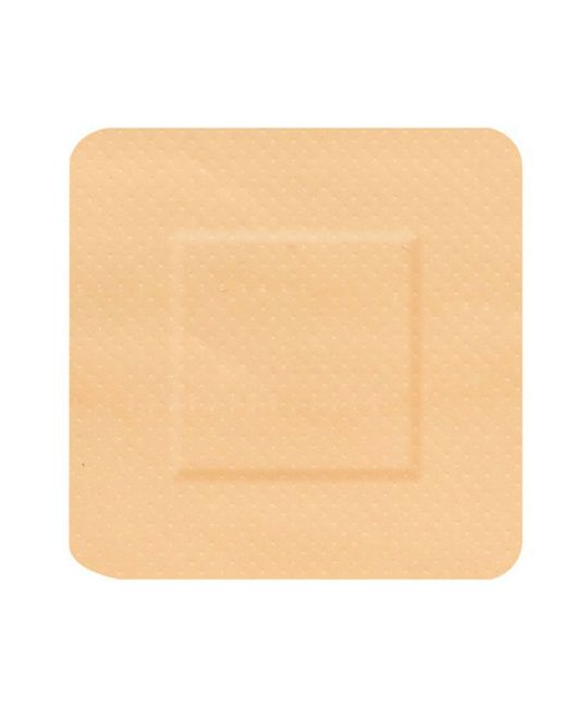 Click Medical 100 Square 38 x 38mm Waterproof Plasters