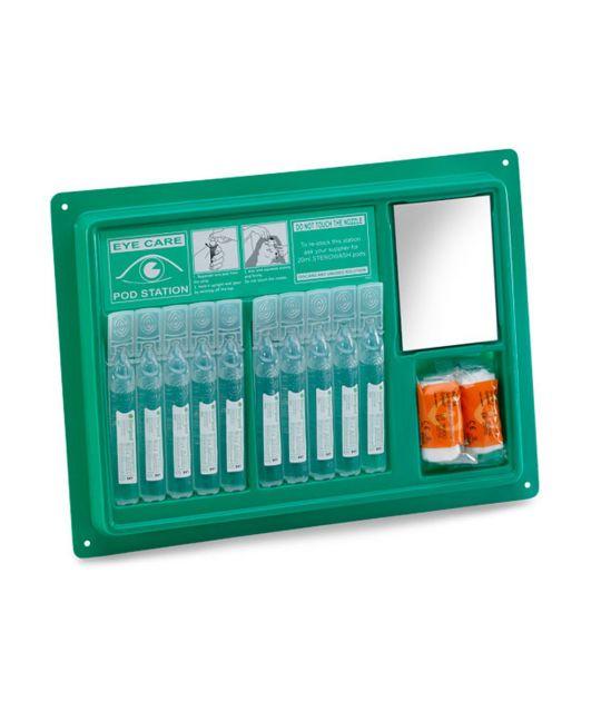 Click Medical Eyewash Pod Station (10x 20ml)