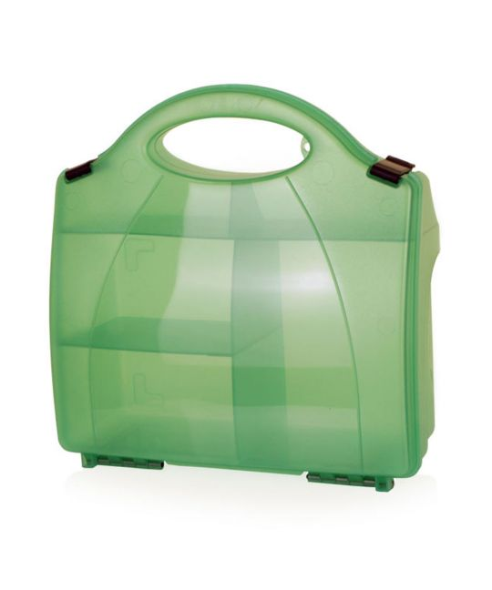 Click Medical 851 Green Eclipse Box With Partitions