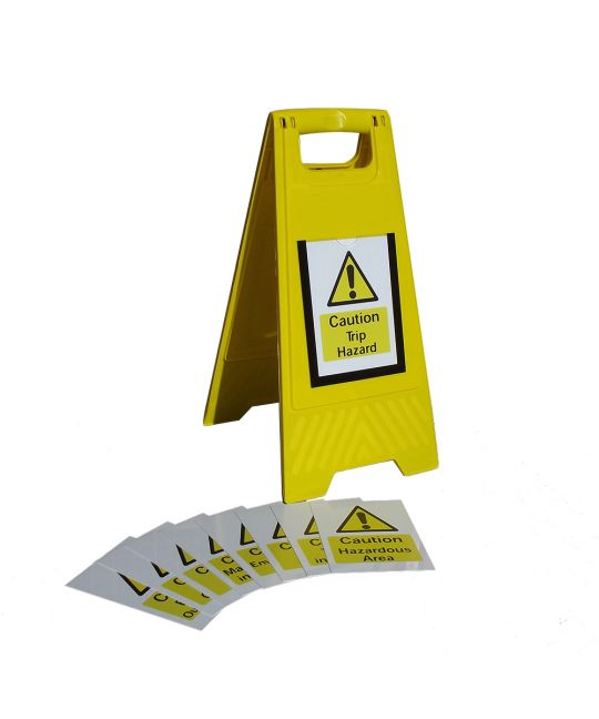 CBRE A-Frame Sign Kit With Interchangeable Signs
