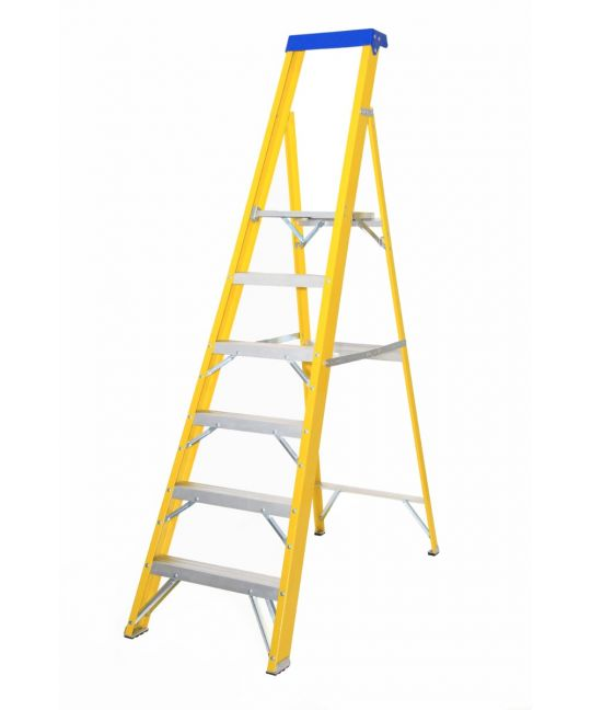 EN131-2 Professional Glassfibre Platform Step Ladder