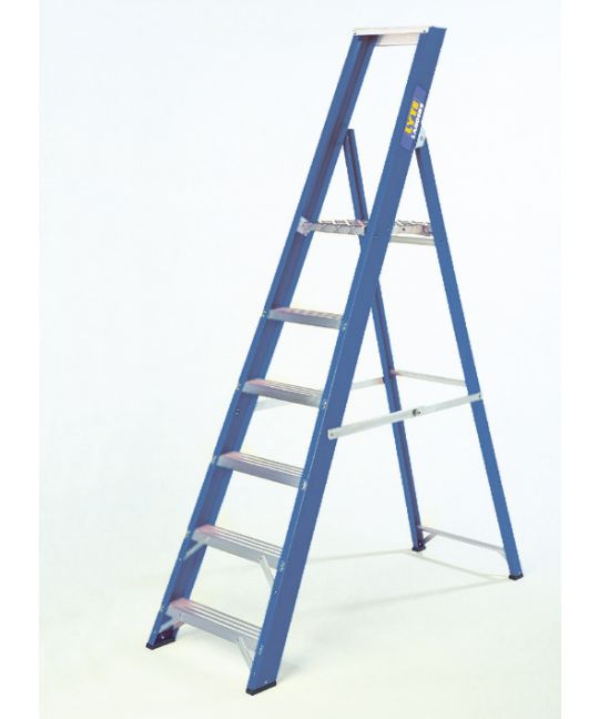Lyte Industrial EN131-2 Professional Glassfibre Platform Step Ladder
