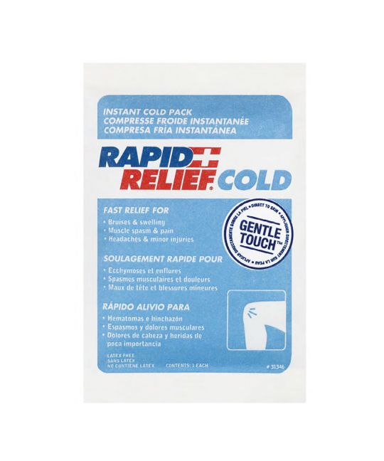 "Rapid Relief Instant Cold Pack Gentle Touch Small (4"" x 6"")"