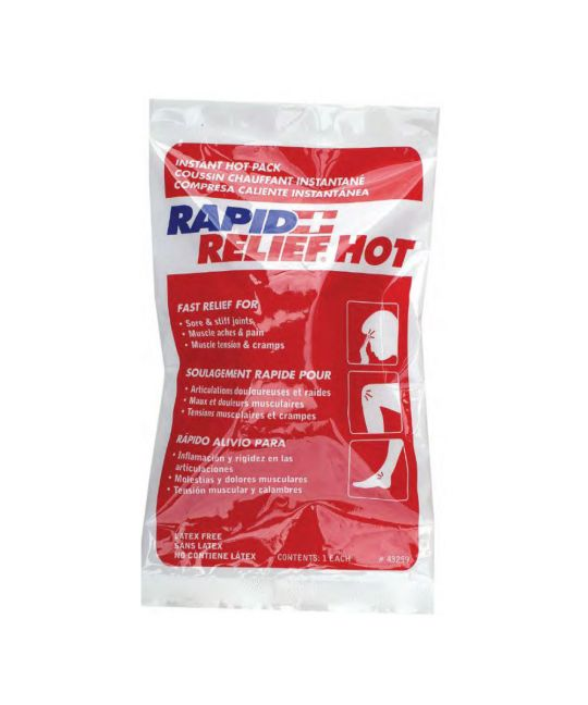 "Rapid Relief Instant Hot Pack Large (5"" x 9"")"