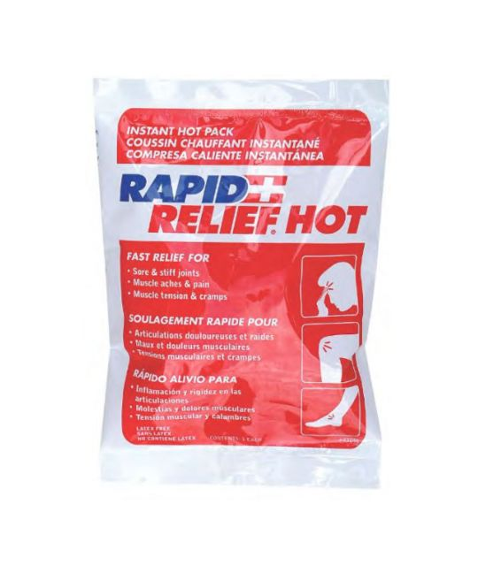 "Rapid relief Instant Hot Pack Small (4"" x 6"")"