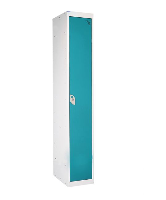 Full Height Locker With 1 Shelf Blue (1800 x 380 x 380mm)