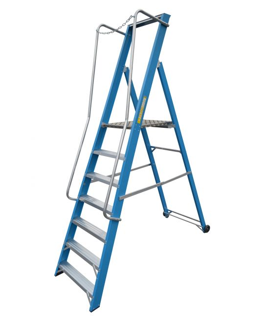 Lyte EN131-2 Professional Glassfibre Widestep Ladder