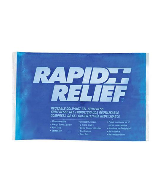 "Rapid Relief Reusable Hot/Cold Gel Small (4"" x 6"")"