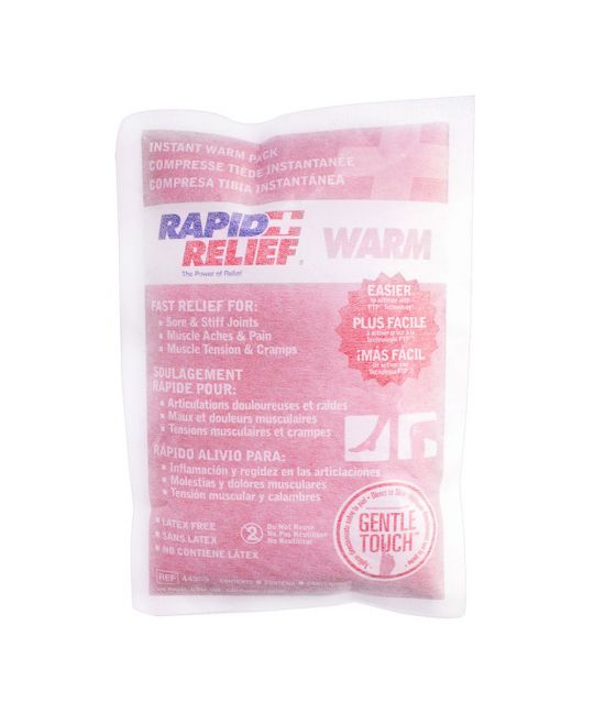 "Rapid Relief Warm Pack Gentle Touch Large (5"" x 9"")"
