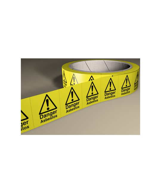 Hazard Labels On A Roll
